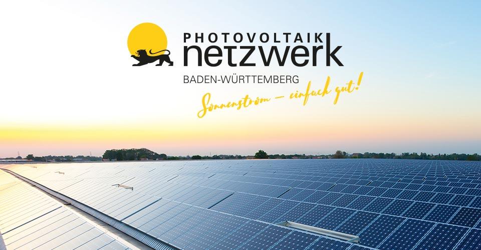 Photovoltaik-Netzwerk Baden-Württemberg Sonnenstrom - einfach gut!