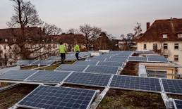 WEG Karsruhe photovoltaik mehrfamilienhaus EWS Sonnenstrom