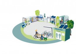 Mobilitätsstation Stufe 2